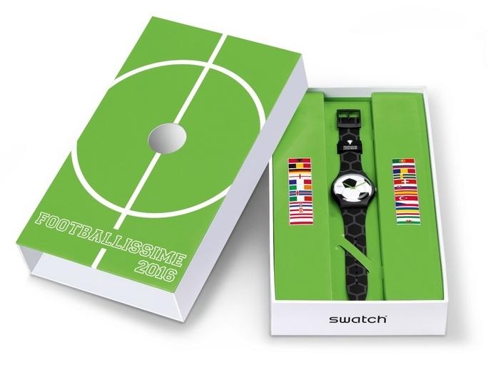 SWATCH едет на чемпионат Европы по футболу 2016
