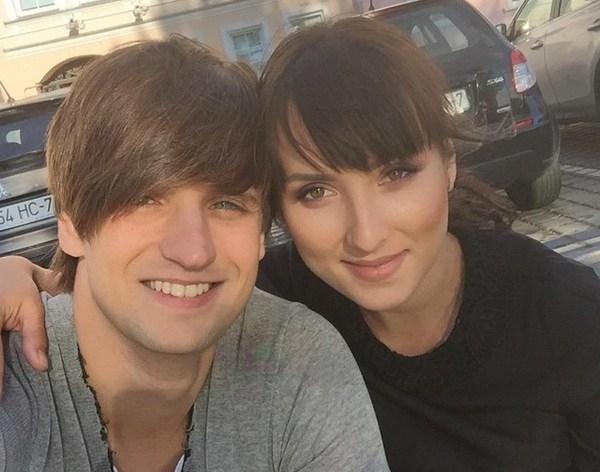 Дмитрий Колдун с новорождённой дочерью