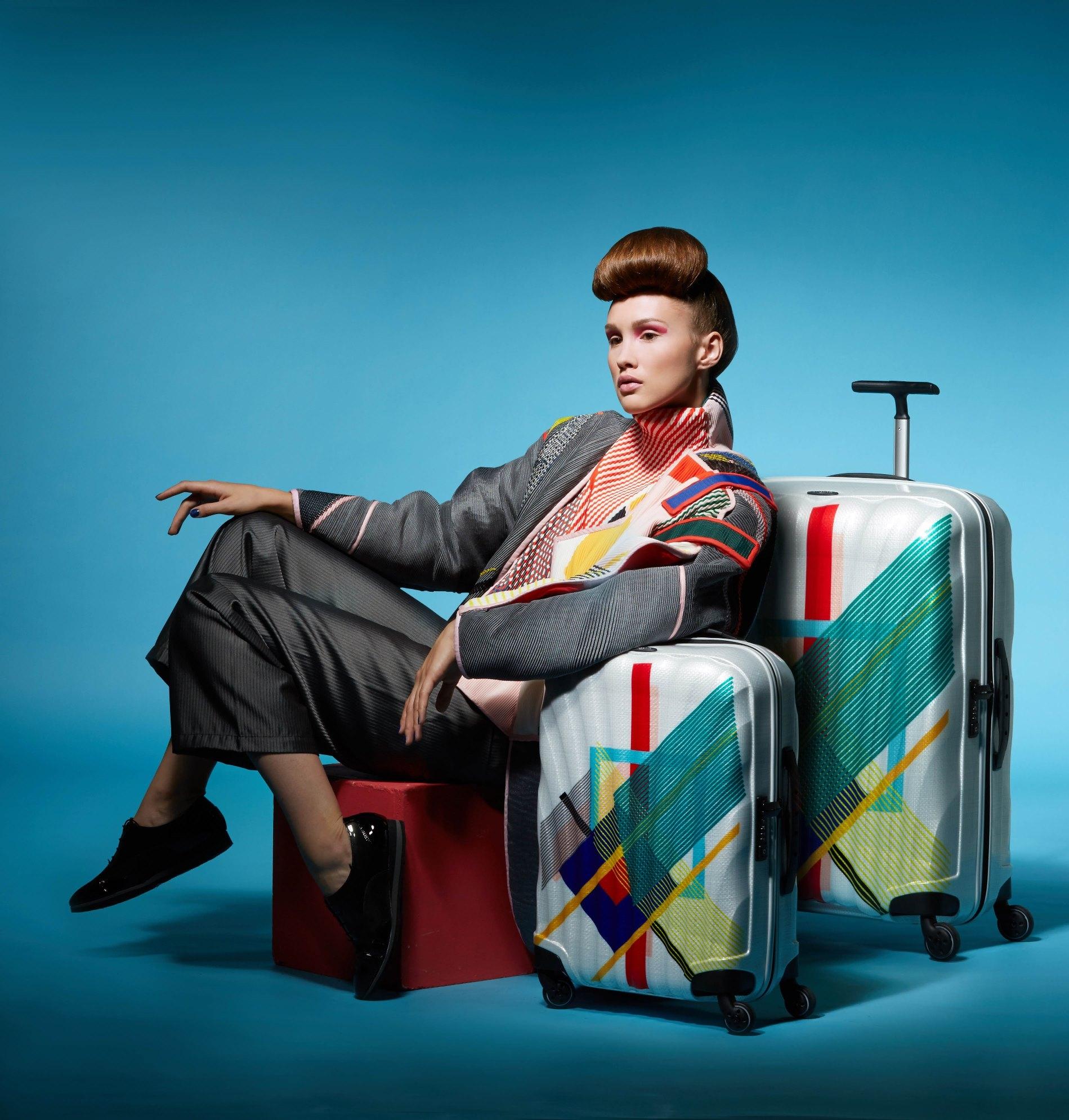 Дизайн новой лимитированной коллекции чемоданов Cosmolite