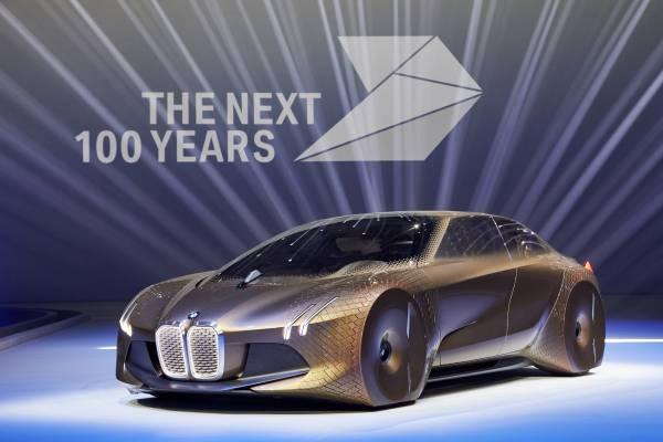 BMW Group представляет автомобиль будущего BMW VISION NEXT 100