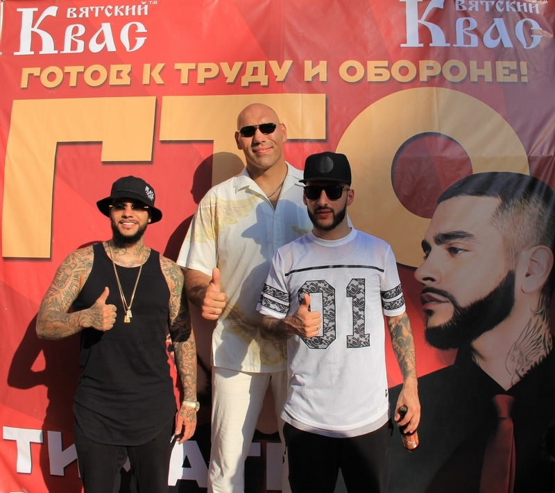 Тимати, L'One и Николай Валуев приняли нормы ГТО в Сочи