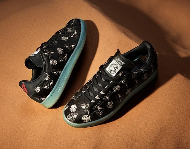 Новые кроссовки от Фаррелла Уильямса для Adidas