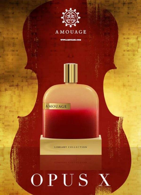 Amouage Library Collection – Opus X: призрак красной скрипки