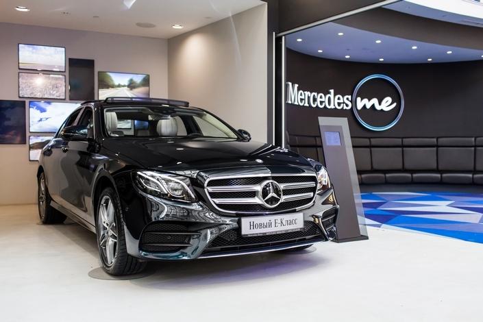 Новый Mercedes-Benz E-Класс теперь и в России