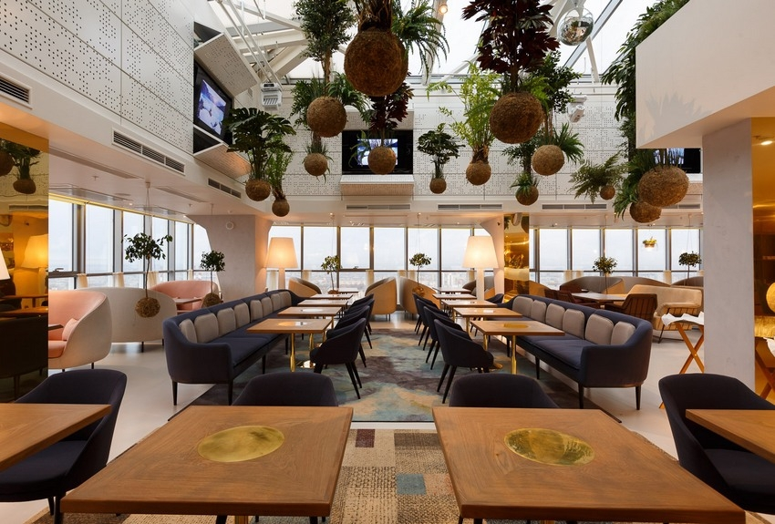 Самый высокий ресторан в Северной Европе открылся в Санкт-Петербурге