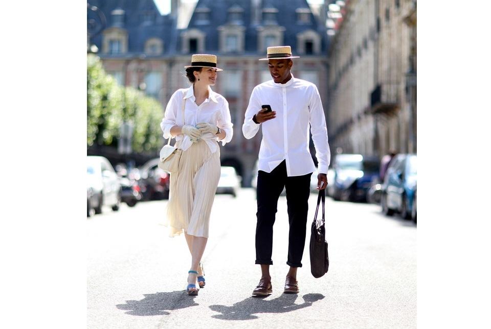Уличный стиль Парижа с недели Высокой моды