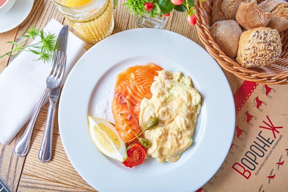 Завтраки в «Воронеже»