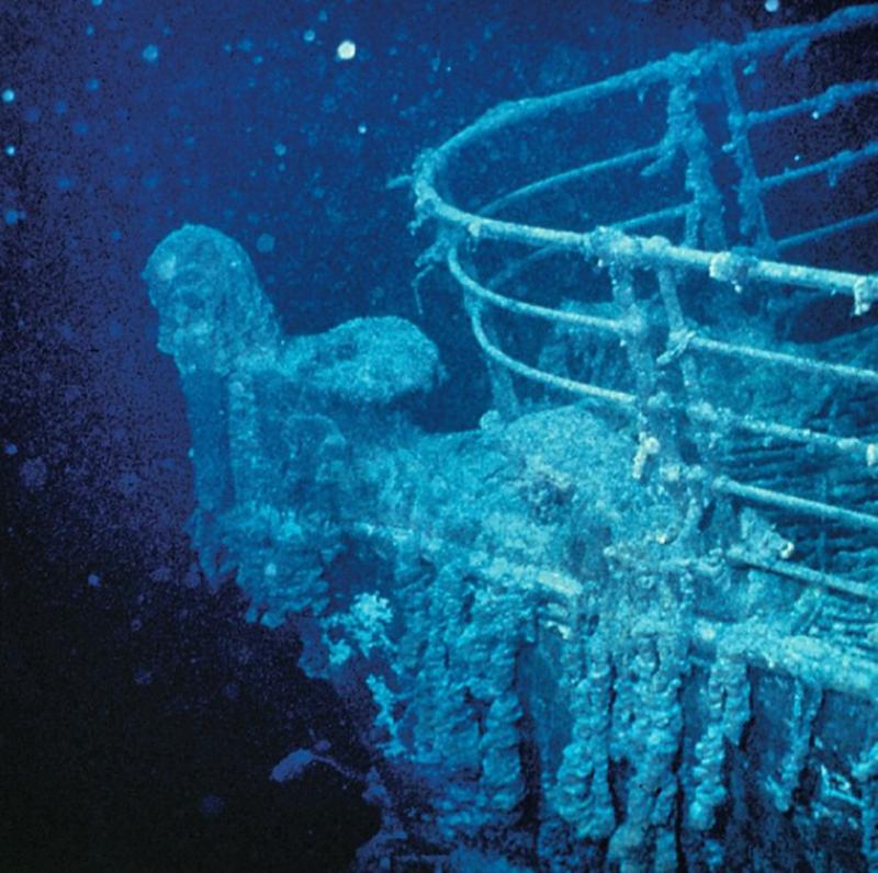 Можно ли увидеть Титаник?