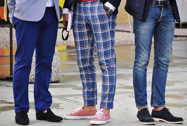 Правила выбора идеальной длины мужских брюк
