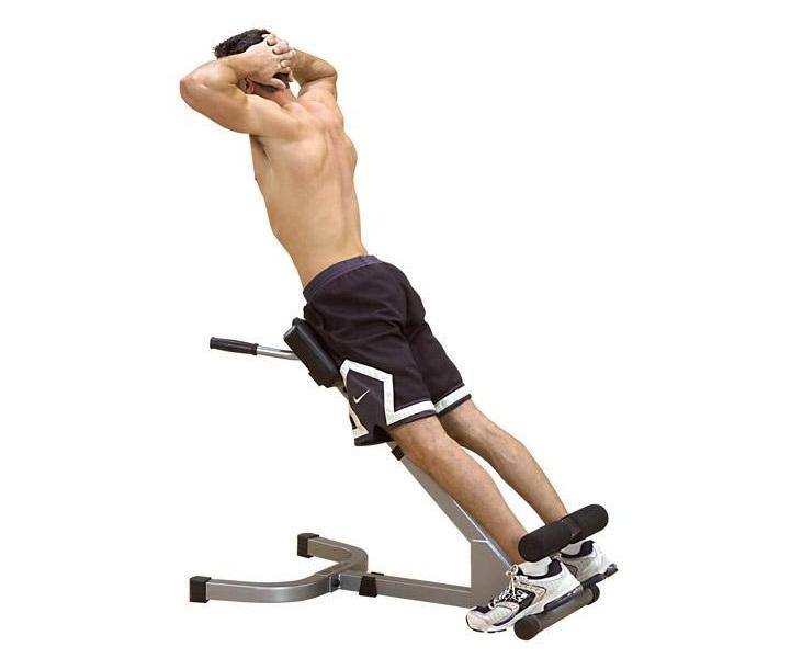Гиперэкстензия как способ сделать мышцы рельефными