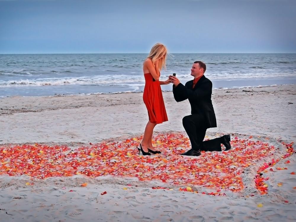 «Ты выйдешь за меня?»