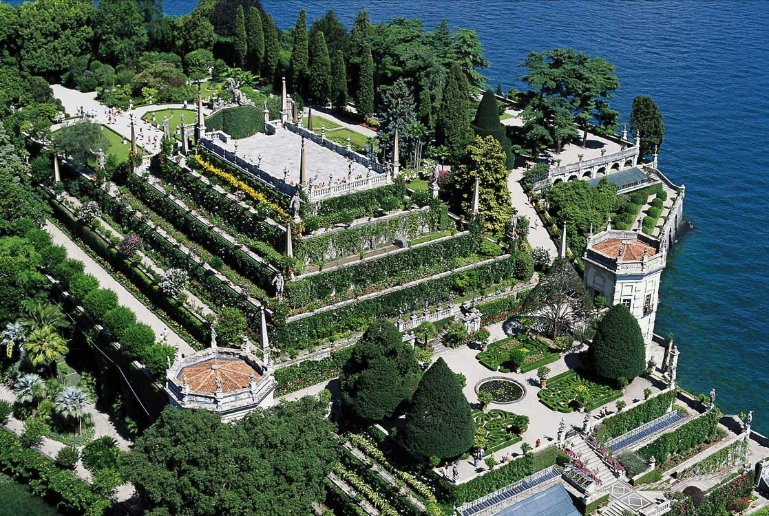 Изола-Белла: дворец для любимой женщины
