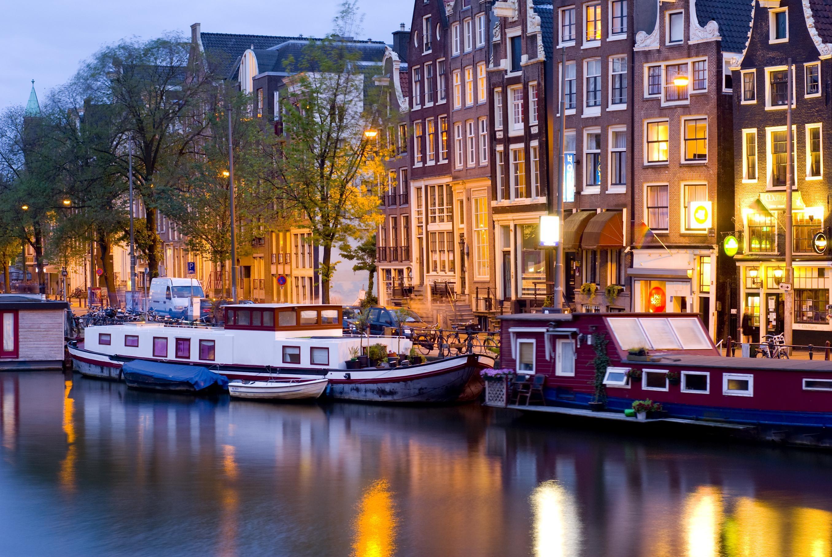 Ам-ам – в Амстердам!