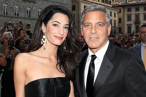 На семью Клуни жалуются соседи
