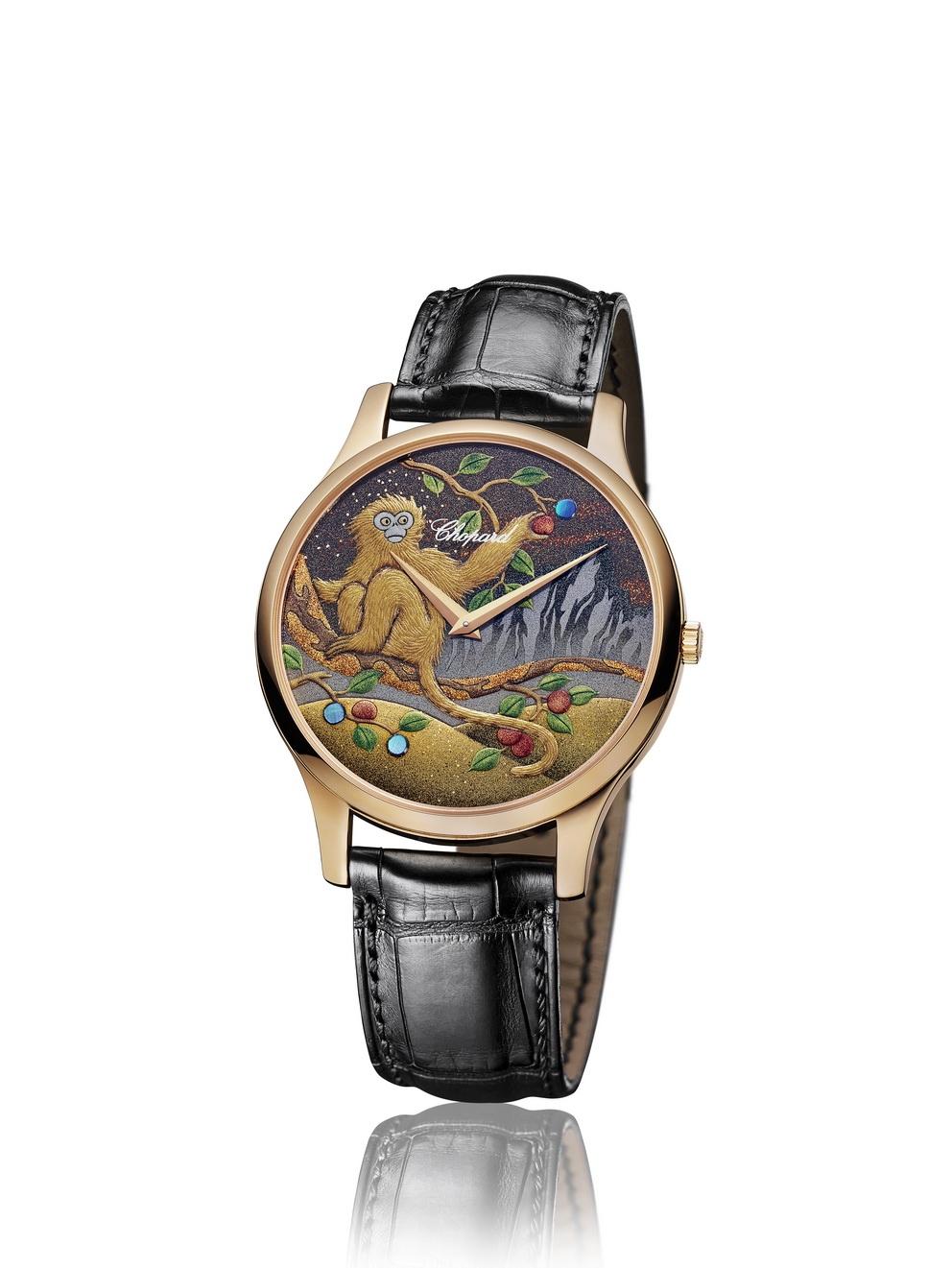 Компания Chopard представляет новые часы L.U.C XP Urushi