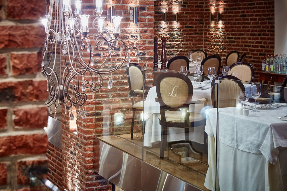 Фестивальный ужин в Le Restaurant