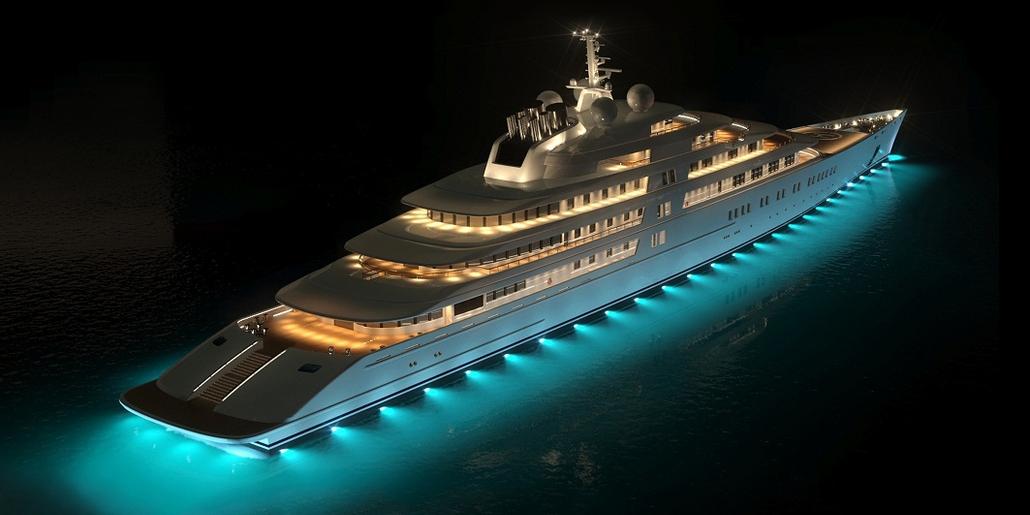 Пятёрка самых шикарных яхт мира
