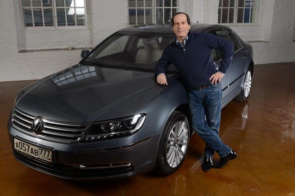 Павел Коган и его Volkswagen Faeton
