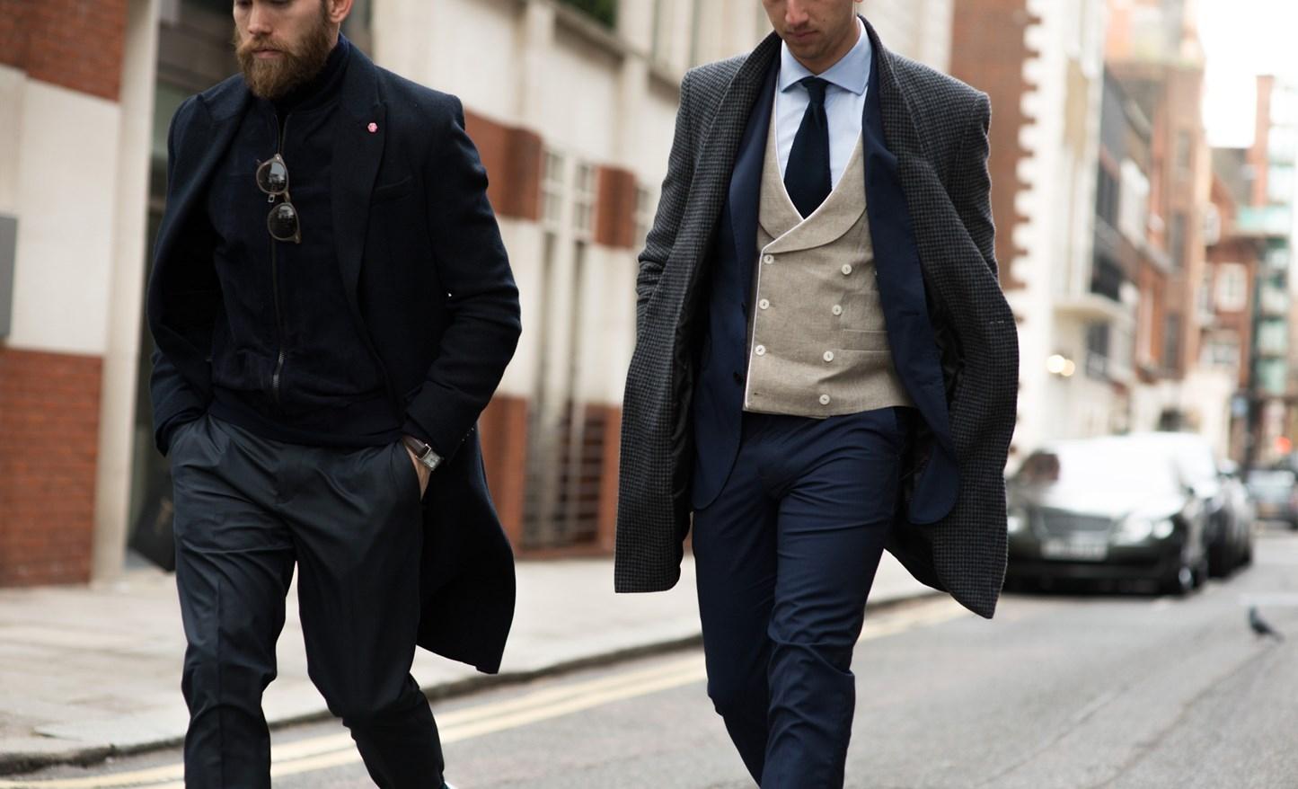 Деловой стиль для настоящих мужчин