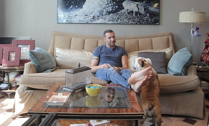 Арчи и собака