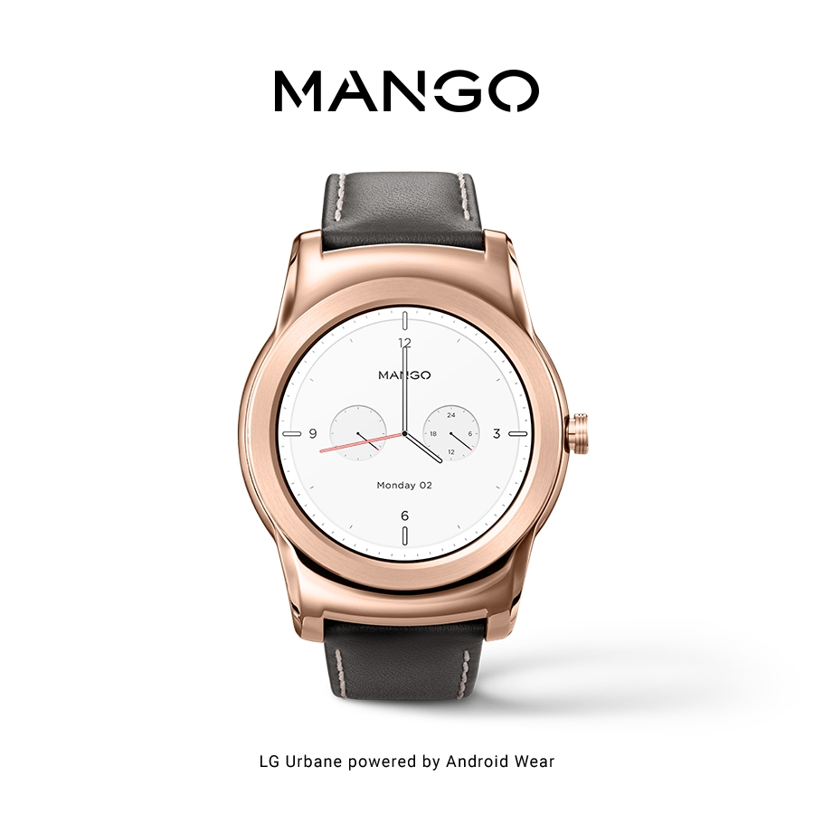 MANGO РАСШИРЯЕТ СВОИ ВОЗМОЖНОСТИ С НОВЫМ ПРИЛОЖЕНИЕМ WATCH FACE ДЛЯ ANDROID WEAR