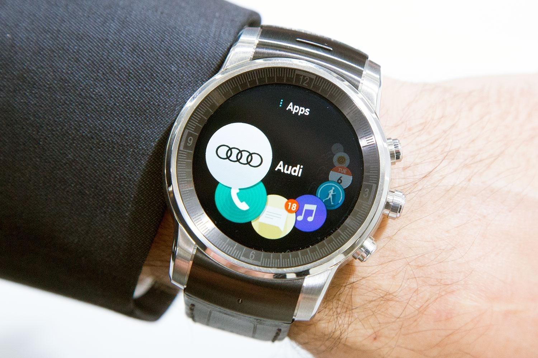 Часы LG для Audi