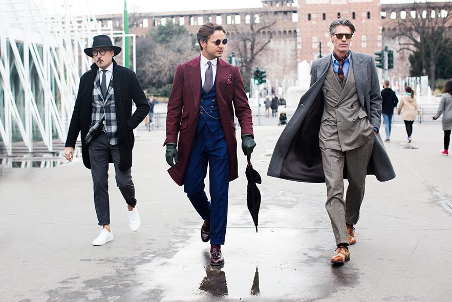 Луки мужчин, которые стали гостями Недель мод