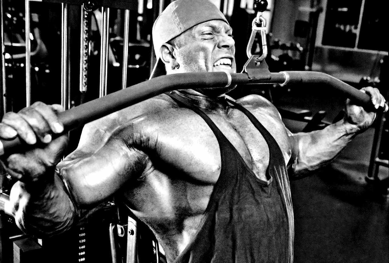 Разрабатываем мышцы спины