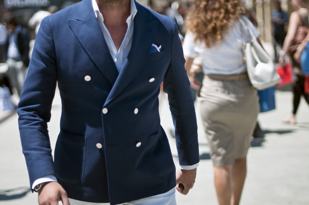 Двубортный пиджак: тренд 2016 года