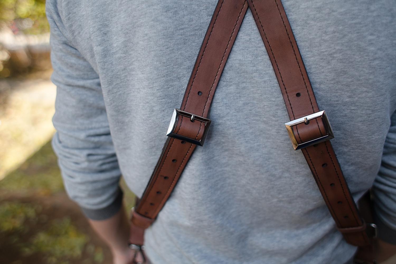 Портупея — модный аксессуар для смелых мужчин