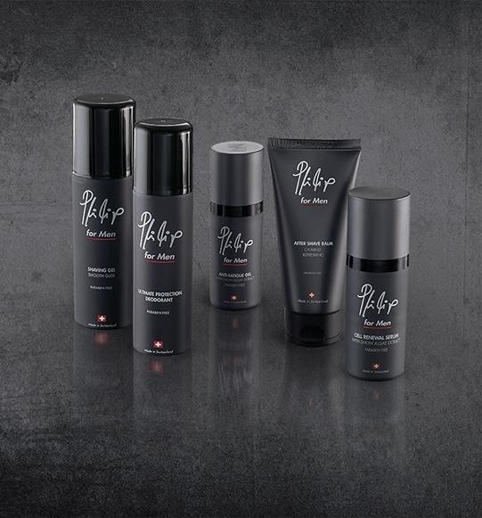 Новая линия средств для ухода за кожей Philip for Men