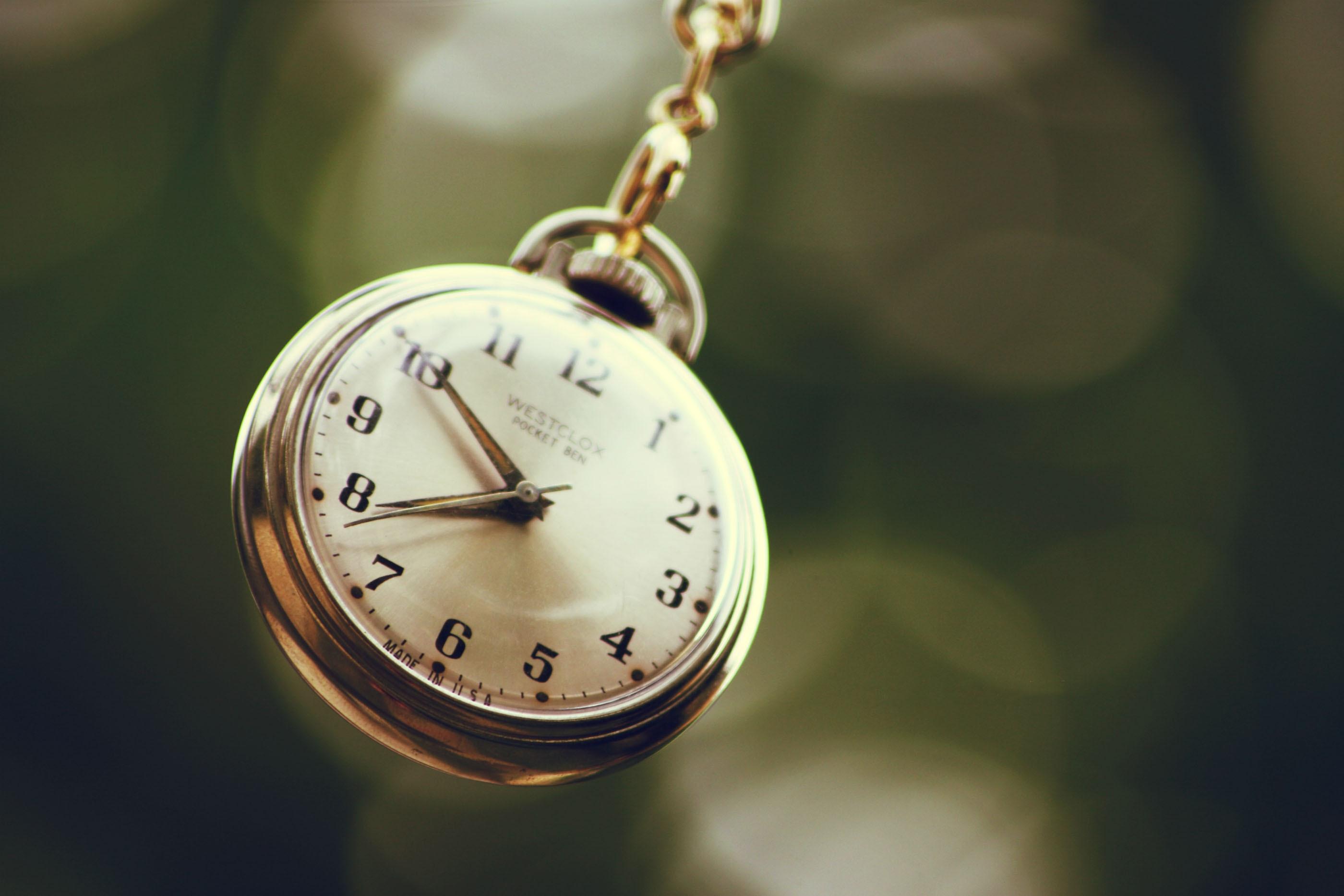 Назад в прошлое: карманные часы