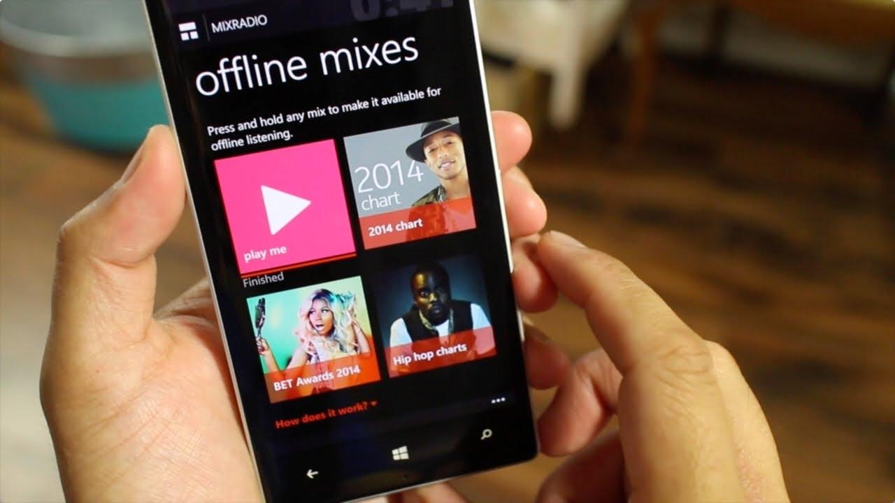 MixRadio для iOS и Android
