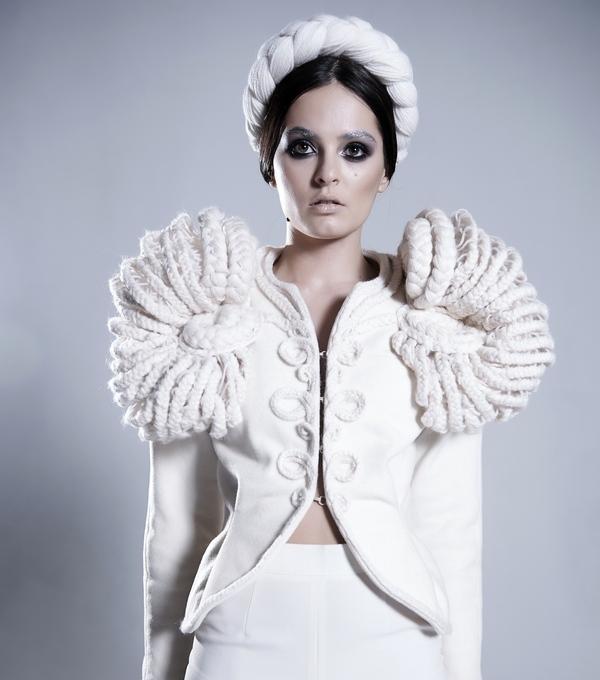 Показ коллекции haute couture бренда Irina Kryuchkova «Тайны темного леса»