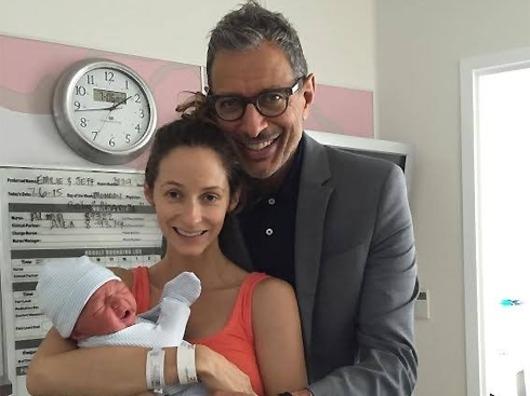 Джефф Голдблюм впервые стал отцом