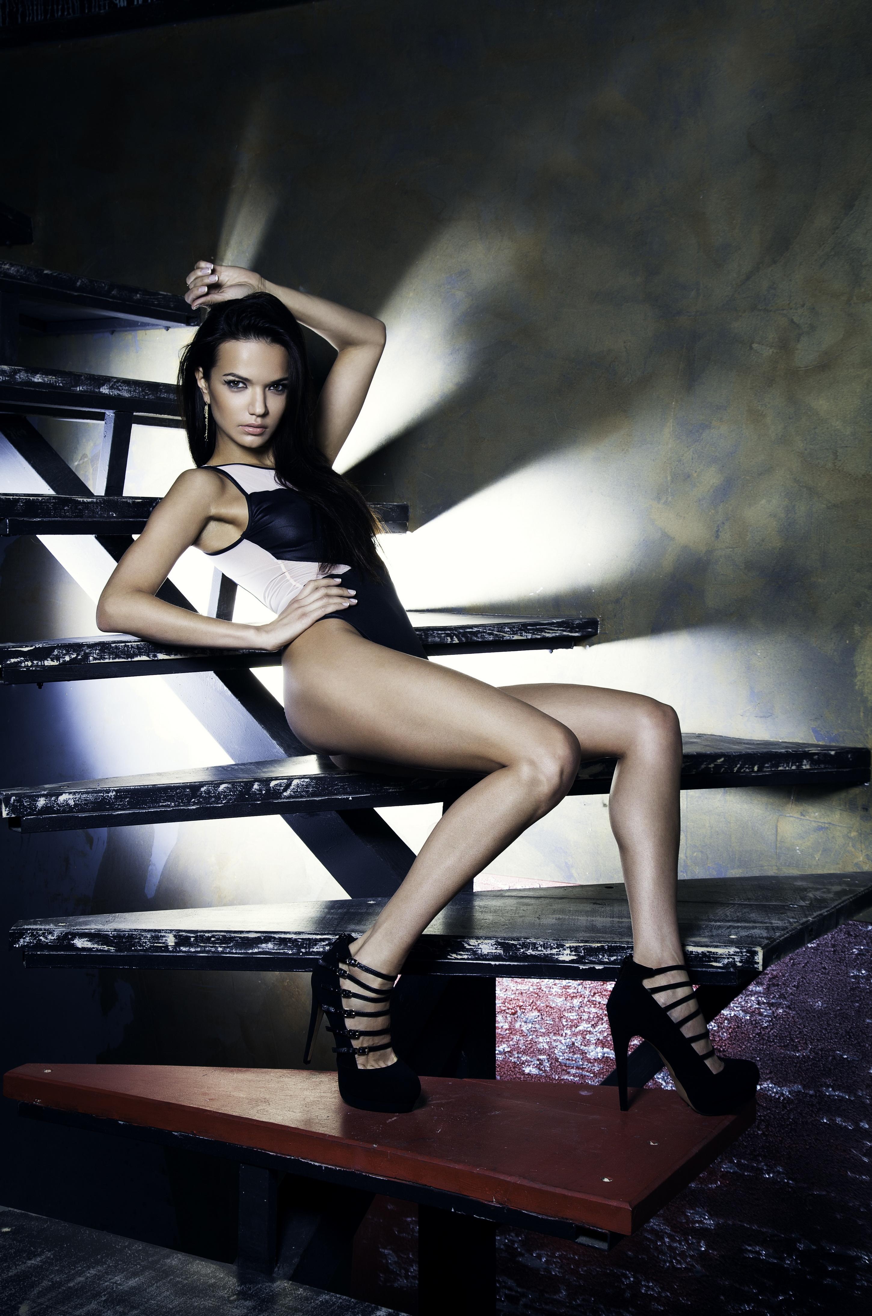 Аделина Шарипова. Фото сессия для журнала MAN TREND