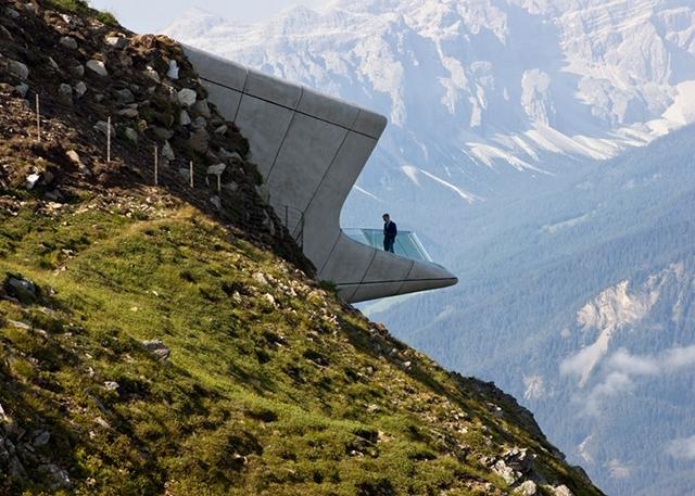 Первый в мире горный музей