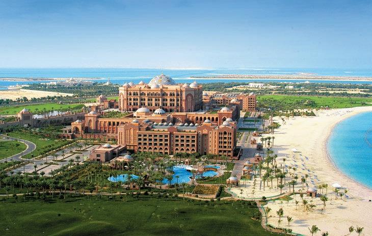 Самые престижные отели. Emirates Palace
