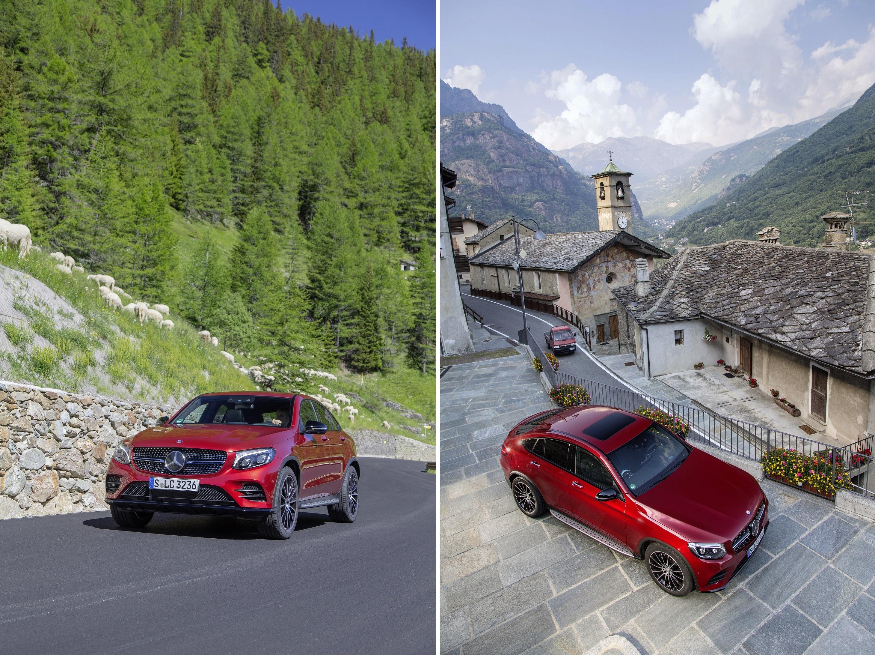 Мировая премьера купе Mercedes-Benz GLC