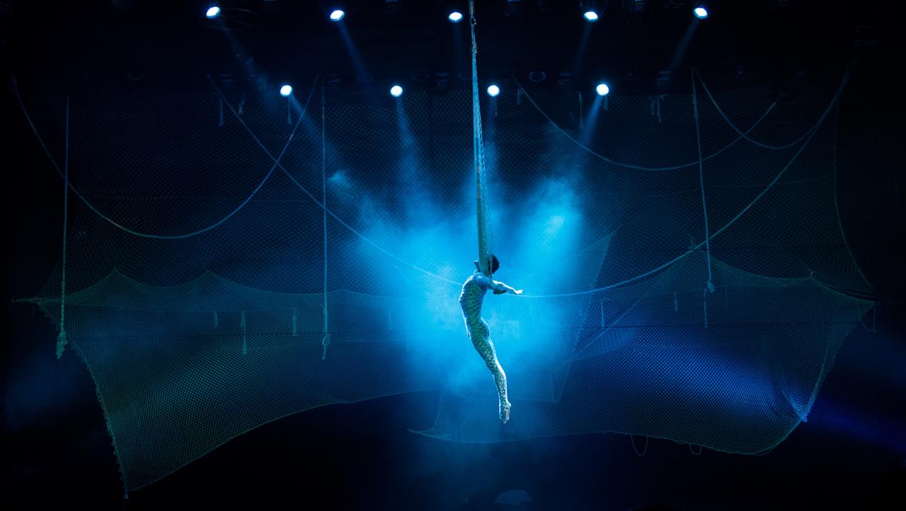 Мультимедийное театрально-цирковое шоу «Человек-амфибия»