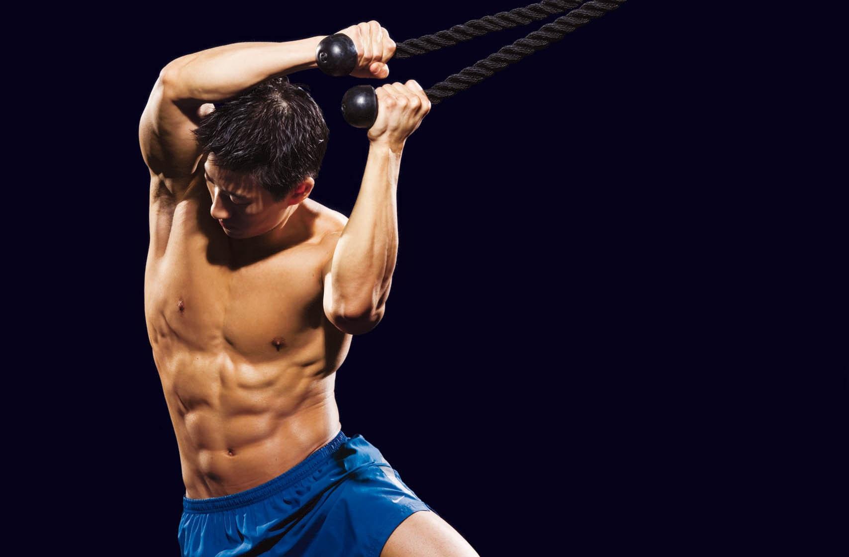 20 минут для мышц кора. Тренировка-табата