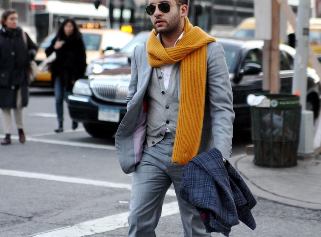 Как правильно носить шарф?