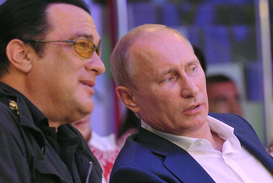 Стивен Сигал — новый гражданин России