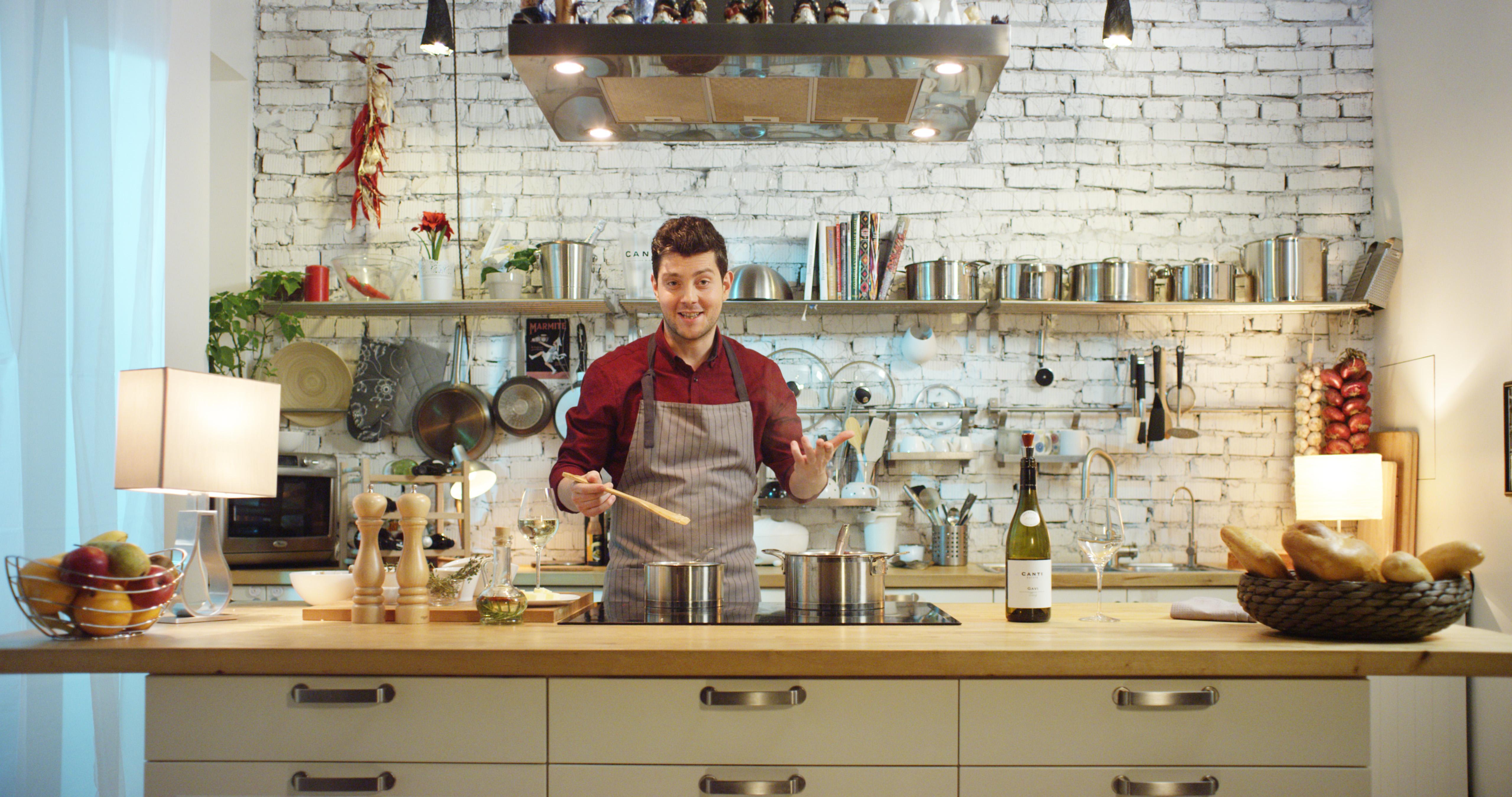 Первое в мире инстаграм-кафе от винного бренда Canti