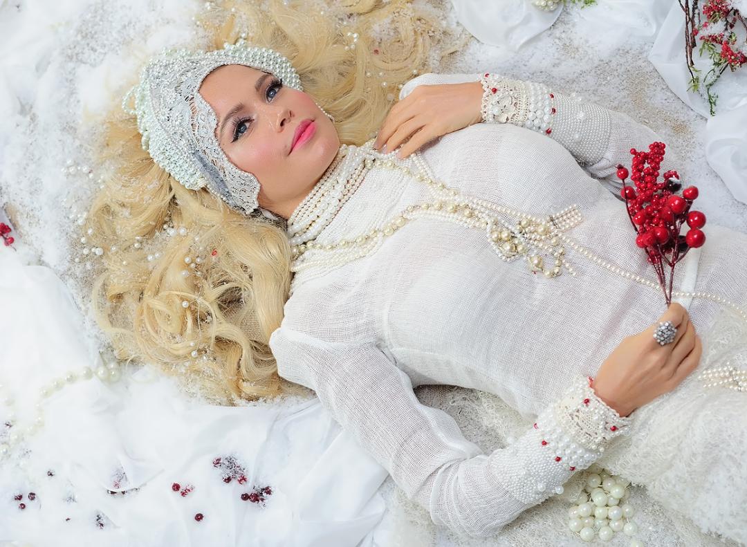 Сексуальная Златаслава на съёмках нового видеоклипа «Снег»