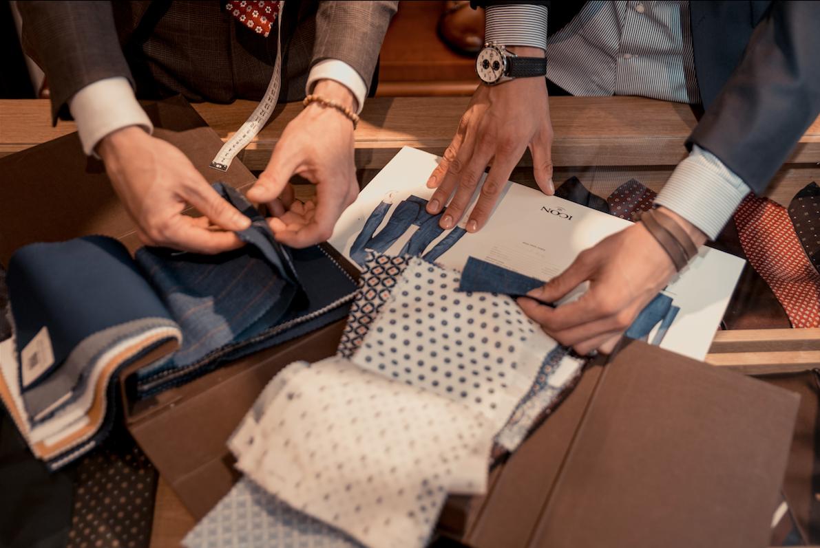 Новая коллекция тканей Icon Suit весна-лето 2017