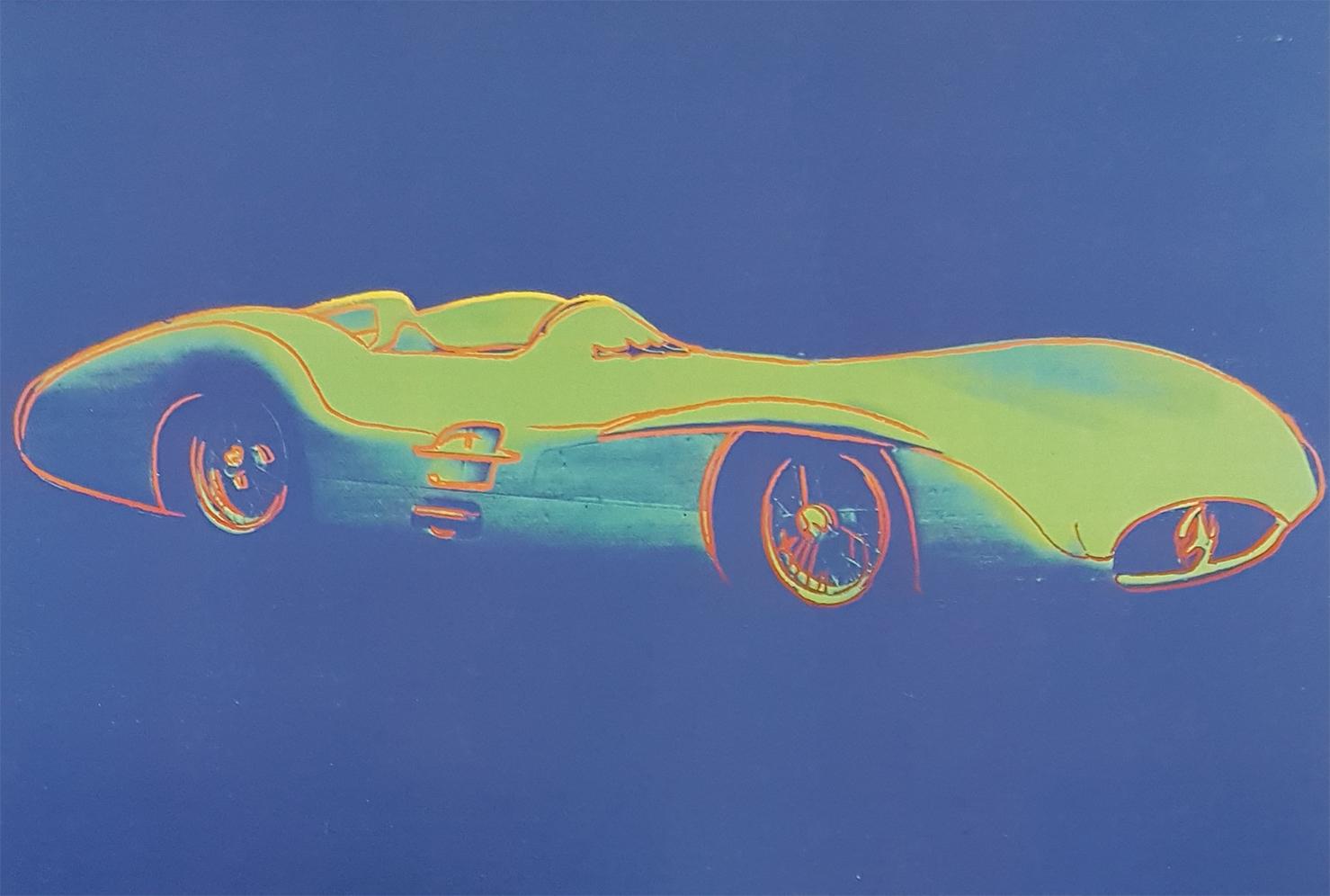 «Любимая машина Энди Уорхола» в салоне продаж «Мерседес-Бенц РУС»